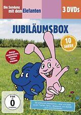 3 DVDs * DIE SENDUNG MIT DEM ELEFANTEN - JUBILÄUMSBOX # NEU OVP §