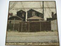 JACK KAY PAINTING AMERICAN REGIONALISM LANDSCAPE COASTAL HOMES BEACH NEWPORT