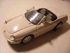 NEW-RAY City Cruiser en Metal 1/43 ALFA ROMEO Spider 1989 Blanc