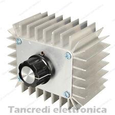 Driver AC 5000W 220V 230V Dimmer regolatore di velocità giri tensione 5KW