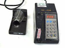 Hakko 939-1 Programmable Digital Soldering Station 120V AC 60W + 631 Iron Holder