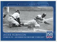 2019 Topps 150 Years of Baseball #89 Jackie Robinson Brooklyn Dodgers PR 801