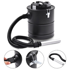 Ash Vacuum Cleaner 5.3 Gallon 1000 W Clean Fireplace Pellet Wood Stove BBQ Grill