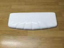 "Toilet Cistern Lid = Qualcast ""Pearl"" Shell, 545mm x 217mm. White,  R-177"