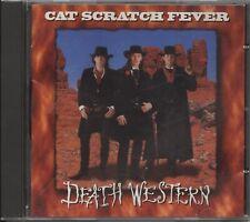 Cat Scratch Fever - Death Western (CD Album) .... Signed
