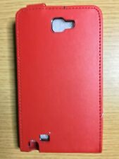 Extra Fine Leather look Flip Case Cover Pouch Samsung Galaxy Note N7000 i9220