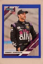 2020 Donruss Racing NASCAR Blue Parallel Jimmie Johnson #174/199