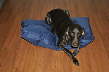 DOG BED MAT 90X55X10CM WATER PROOF HEAVY DUTY SMALL RECTANAGLE CANVAS OUTSIDE