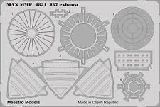 SAAB 37 Viggen PE Exhaust & Thrust Doors Set (TAR)