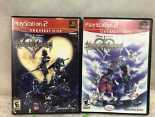 PlayStation 2 Kingdom Hearts And Kingdom Hearts Re Chain Of Memories Video Game