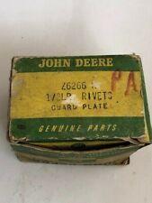 John Deere Parts In Box Z6266 H Guard Plate Rivets