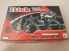RISK TRANSFORMERS Cybertron Battle Edition Board Game Parker Brothers Brand New!
