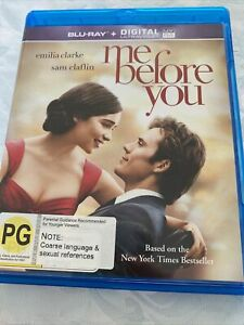 Me Before You [Blu-ray] [2016] [Region Free] New & Unsealed