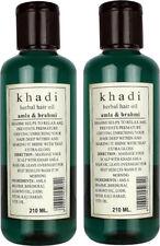 Pack of 2 Khadi Amla And Brahmi Herbal Hair Oil 210 ml Each Free shipping
