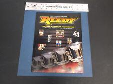VINTAGE 2001 REEDY R/C MODEL PRODUCT CATALOG MOTORS-BATTERIES-ACCESORIES VG-COND