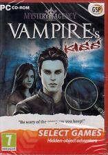 Mystery Agency Vampire's Kiss BRAND NEW SEALED(PC CD-ROM)