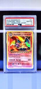 2016 XY Evolutions STAFF Charizard Holo #11 PSA 10 Gem Mint - Pop 38 Only