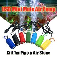 USB Mini Oxygen Air Pump Aquarium Fish Tank Portable Mute Energy Saving Air Pump