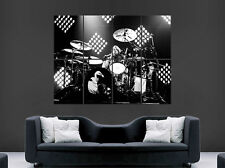 Dave Grohl tambour affiche tambours Foo Fighters Nirvana wall art photo Géant