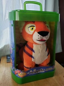 Vintage 2003 Neopets Interactive Talking Orange Kougra Plush Doll IOB