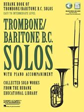 Rubank Book of Trombone Baritone B.C. Solos Easy to Intermediate Book 000160732