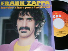 "7"" - Frank Zappa harder than your husband-MINT 1981 # 2733"