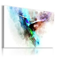 PAINTING DRAWING BIRDS NATURE PRINT Canvas Wall Art Picture  R53 MATAGA