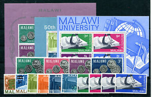 Malawi Jahrgang 1965 postfrisch in den Hauptnummern kompl................ 2/4030