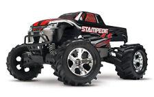 Traxxas Stampede 4x4 Schwarz RTR Brushed RC Monster Truck 12V Lader Akku 67054-1