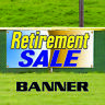 Retirement Sale Big Clearance Business Advertising Retail Vinyl Banner Sign