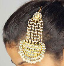 New Head Piece Jhumar Passa Side Piece Indian Bollywood Costume Hair Jewelry