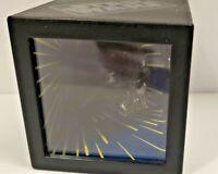 Star Wars Vintage 1996 3D Darth Vader Yoda Floating Head illusion Box Cube