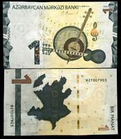Azerbaijan 1 Manat 2020 Banknote World Paper Money UNC Currency Bill Note