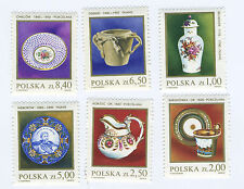 POLAND 1981- STONEWARE and  PORCELAINE - 6 stamps - MNH