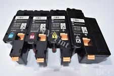 4 x Toner For Xerox Phaser 6010 6000 Workcentre 6015 6015V 106R01631 ~ 106R01634