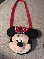 Plush Minnie Mouse purse for kids