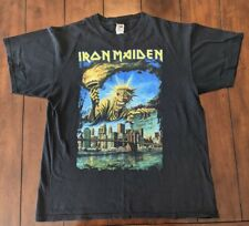 2008 Iron Maiden somewhere back in time Tour T-shirt Size Large NYC and NJ