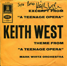 "KEITH WEST 7"" Excerpt From ""A Teenage Opera""  (signiertes Cover!!!)"
