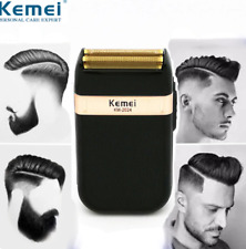 Electric Shaver USB Rechargeable with Twin Blade From Kemei