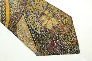 GIULIANO FERRI Silk tie Made in Italy F15068