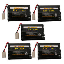 5 x 10*AA Cell Battery 2200mAh 12V NI-MH Rechargeable Battery Pack UltraCell