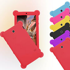 For 7 inch Tablet Kids Pad Universal Soft Silicone Shockproof Case Cover Xmas