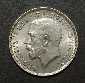 GEORGE V 1925 SIXPENCE. SUPERB