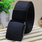 Mens Military Tactical Nylon Outdoor Sports Waistband Canvas Web Belt Dazzling