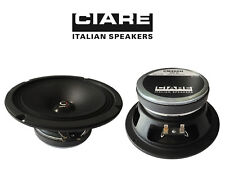 "CIARE CM200N COPPIA MIDWOOFER MID RANGE 8"" 20cm 4ohm 250 W SPL CASSE AUTO DJ"