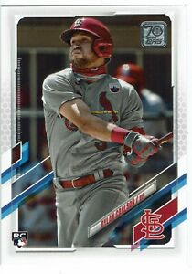 2021 TOPPS SERIES 1 DYLAN CARLSON ST. LOUIS CARDINALS ROOKIE CARD