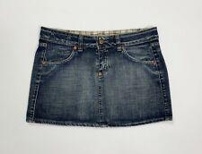 67e53672884f Sly mini gonna jeans usato donna W28 tg 42 corta denim hot sexy vintage  T4896