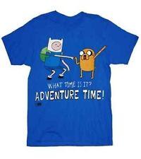 Authentic Cartoon Network Adventure Time Standing Dap Fist Finn & Jake T Shirt S