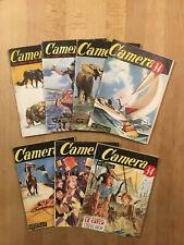 CAMERA 34 - Lot de 7 numéros - BE