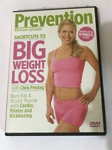 SHORTCUTS TO BIG WEIGHT LOSS CHRIS FREYTAG DVD BURN FAT SCULPT MUSCLE CARDIO